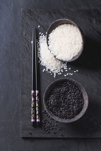 Black And White Rice