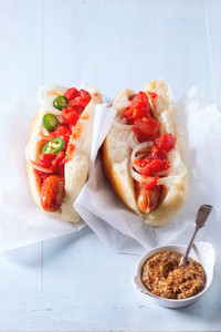 Homemade Hot Dogs
