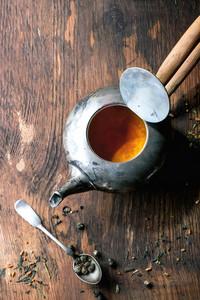 Vintage Metal Teapot