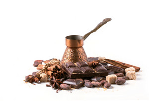 Dark Chocolate With Cocoa Beans