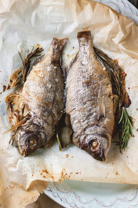 Tow Grilled Fish