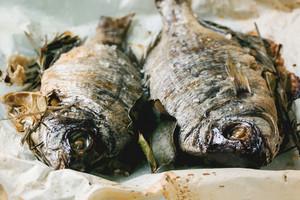 Tow Grilled Dorado Fish