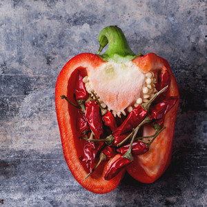 Stuffed Red Paprika