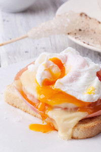 Toast With Cheese And Egg