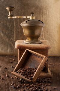 Old Broken Coffee Grinder