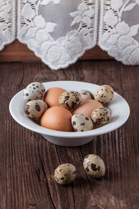 Quail And Chicken Eggs
