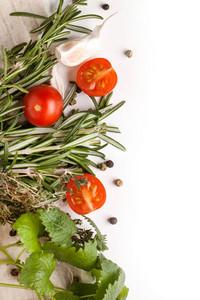 Tomatoes  Garlic And Herbs