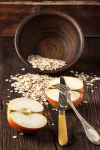Apple And Oatmeal