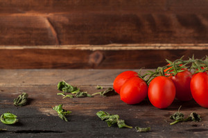 Herb And Tomatoes