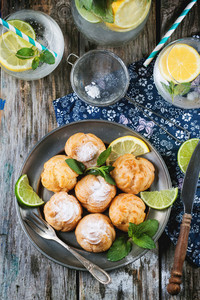 Pastries With Lemonade