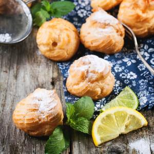 Pastries With Lemonade