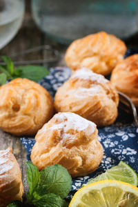 Pastries With Mint