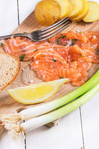 Snack With Salted Salmon