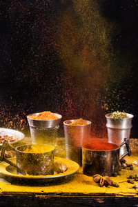 Exploding Of Spices