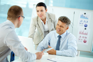 Business People Working Together To Achieve Better Results