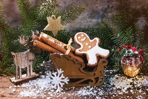 Gingerbread Man In Slade