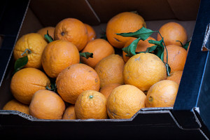 Oranges In Box