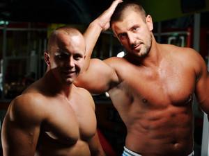 Athletic bodybuilder
