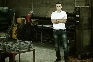Working in metal industry
