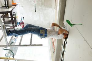 Preparing walls during building