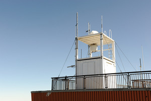 Meteorological weather-station (measurement equipment)