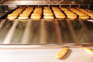 In bread bakery food factory