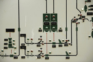 Operating old brewery control display
