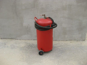 Fire extinguisher. equipment for primary oil refining.