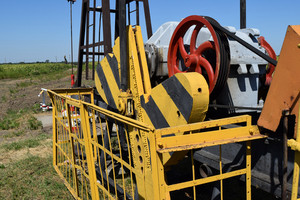 Electric drive and reducer of the pumping unit of an oil well. equipment of oil fields.