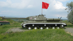 Tank. the militatank. the military monument