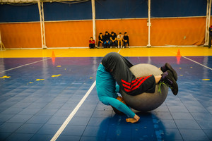 Classes with gymnastic ball