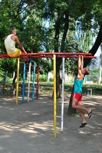 Yard gymnastics