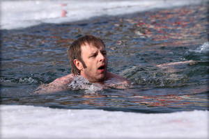 Swimming in the pool