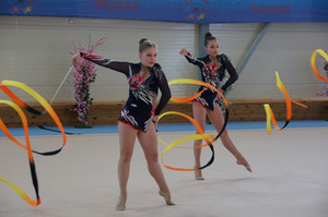 Girls gymnasts