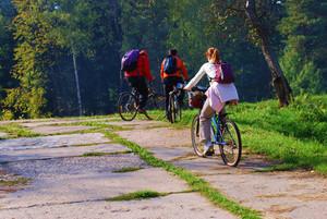 Bicycle riding