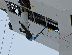 Training in mountaineering