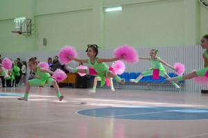 Girls gymnasts
