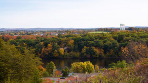 Ludlow Massachusetts Scenic Overlook