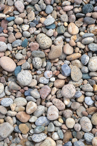 Sea Shore Stones Texture