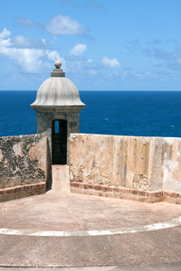 El Morro Fort Sentry Watchtower
