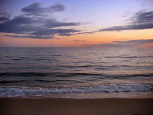 New England Beach Sunset
