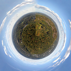 Mini Planet New England Panorama