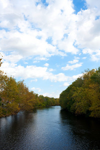 A glorious view of the Farmington River in Connecticut.