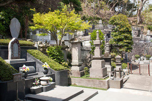a Japanese stones monument