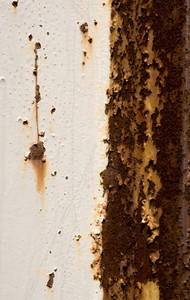 A rusty background texture - very grungy.  Plenty of copy space.