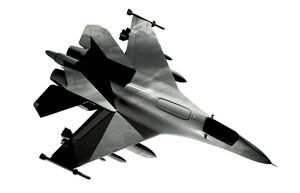 Above Fighter Jet