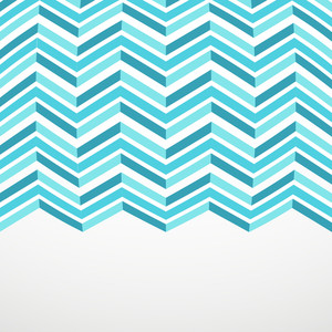 Abstact Zigzag Blue Background