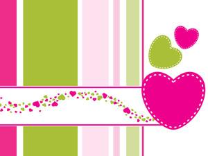 Abstrac-illustration Love Card