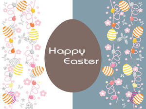 Abstract Background For Easter Day