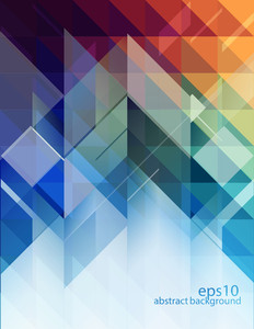 Abstract Background - Geometric Design Elements